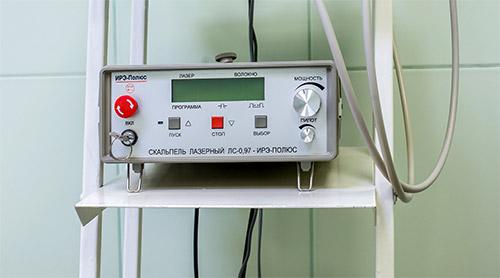Портативный лазерный скальпель-коагулятор
